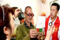 爱心护眼义诊进灞桥 村民:有了新眼镜干活更方便